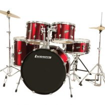 Ludwig Accent Drive in Wine Red